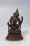 Sarasvati (Indian Goddess & Buddhist Deity): White (2 hands)